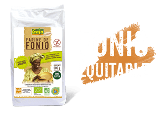 Notre gamme Fonio solidaire Gaia